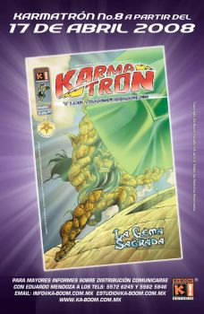 Karmatron Issue 8 by Saskunah