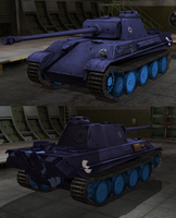 Panther skin World of Tanks by SkyshadowMeadow