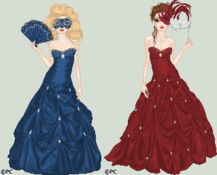Masquerade Ball by isoldel