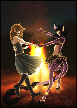 Dance by Fire by The-F0X