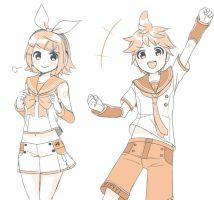 Kagamine V4X by grimay
