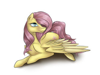Fluttershy by iSeppe