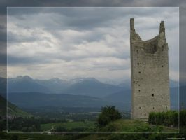 Chignin Tower France Savoie by hipe-0