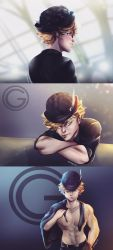 Bowler Hat Photo shoot by MegS-ILS