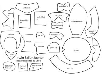 Irwin Sailor Plush Pattern by SarahsPlushNStuff
