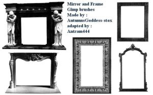 Gimp Mirror Brushes by Antram444