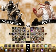 Mortal Kombat vs. Street Fighter Universe by genius-spirit