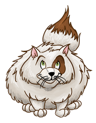 Fluffy Cat by Milomax27