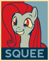 Squee I Can Believe In by officer-rabbit