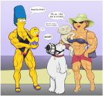 Brian At Muscle Toon Beach 1 by yatz