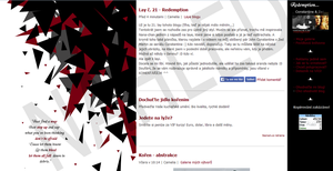 Redemption - blog layout no. 21 by Tokimeki-chan