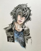Prince Noctis by kirstenmarquisart