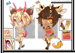 Jishubies 4 - Set Price - Paypal and Points-CLOSED by x-Cute-Kitty-x
