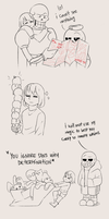 [UNDERTALE] Ride with the skeleton brothers by TheTimeLimit