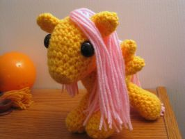 My Little Pony - Baby Fluttershy by kaerfel