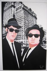 Blues Brothers by AAAlexAbele