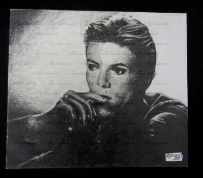 David Bowie, young by Kishuri
