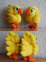 [Final Fantasy] Chocobo Plushies by NekoRushi