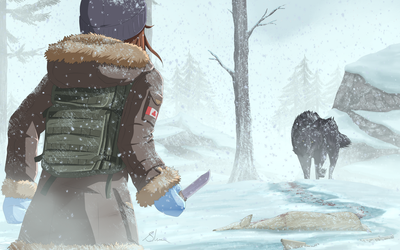 The Long Dark - Silence in the Snow by xZDisturbedZx