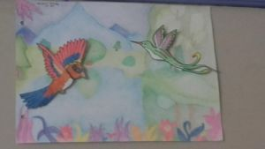 birds and fantasy  by Mikal04-12