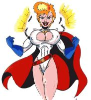 Power girl 2 by Lonzo1