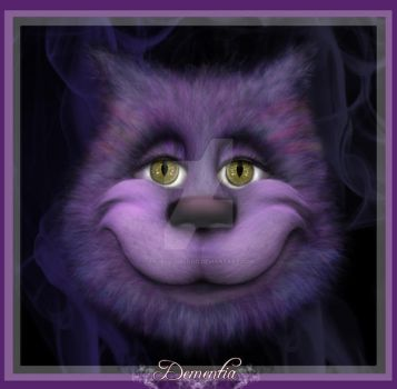 Cheshire Cat by AngellusBlood