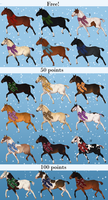 Christmas Mystery Adopts - ALL REVEALED by Anonymous-Shrew