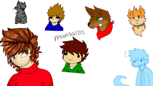 [Eddsworld] - Doodles by mansa1212