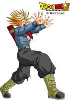 Trunks Power of Fury -  Galick Ho by Dannyjs611