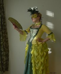 Pineapple gown - Ananas by rum-inspector