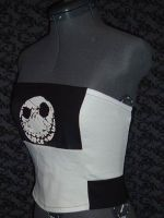 Nightmare Before Xmas Corset by crafterbynite