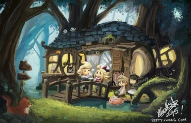 Bravely Default by BettyKwong
