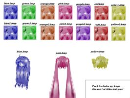 Lat Hair Textures Pack DL by Pokeluver223