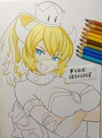 [W.I.P] Bowsette - Mario Series by VeraloneFore