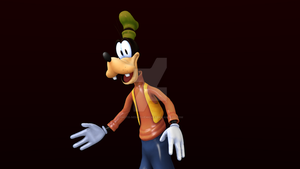 Normal Goofy Render by Photo-NegativeMickey
