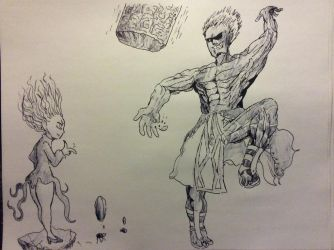 One Punch Man vs The King of Fighters? by Donthedemon0
