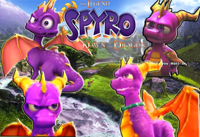 The-Legend-Of-Spyro-Wallpaper by Supremalucard78411