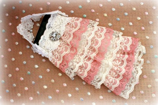 Lace phone case by Dolly-chan