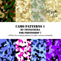 Camo Patterns 1 by TwinEnigma