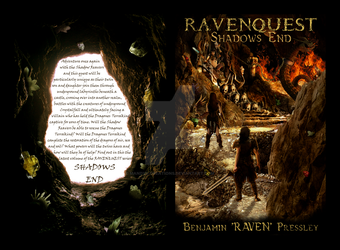 RavenQuest series Bookcover #6 by mandys-creations