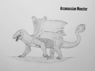 COTW#197: Arzamassian Monster by Trendorman