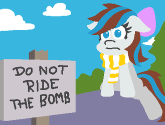 Do not ride the bomb by ThreeTwoTwo32232