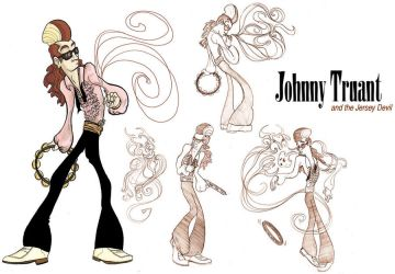 Johnny Truant and the Devil by leftomaniac