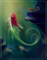 + The Little Mermaid + by Claire-Sinturel