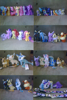 Plushies, MLP figures,etc for sale by Rap-Monstah
