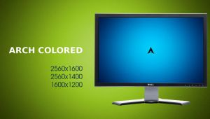 Colored Arch Linux by Dummas