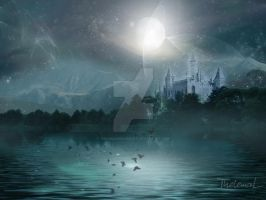 Magic Moon by ThelemaDreamsArt