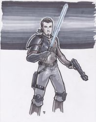 Kanan Jarrus - Star Wars Rebels by Alexander463