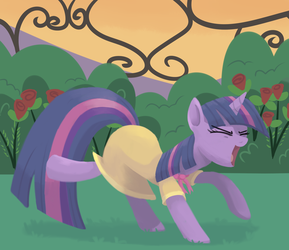 Dancing Twilight is awesome by cartoonboyplz