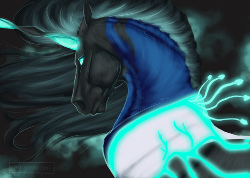 Qaphsiel - Commission by Astralseed